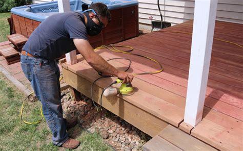 restore   deck