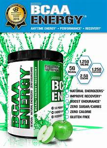 Bcaa Energy By Evlution Nutrition At Bodybuilding Com
