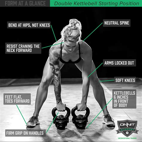 double kettlebell form position starting onnit glance workout kettlebells strength workouts exercises academy way points mass swings proper dumbbell benefits