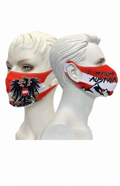 Maske Austria Nasen Mund Kreativwerkstatt Tirol Damen