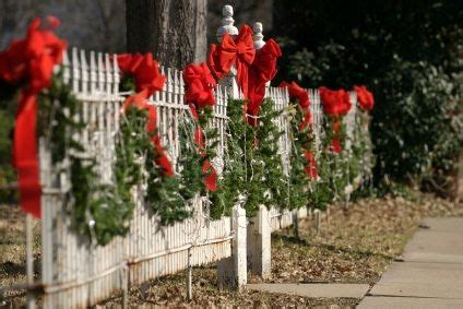 garland for decorating fences 17 best images about yard lanterns garland for our fence on green wreath picket