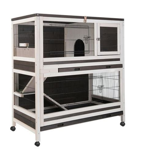cage a lapin interieur cage clapier lapin d interieur hutchland animaloo