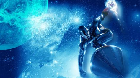 silver surfer hd wallpapers backgrounds wallpaper abyss