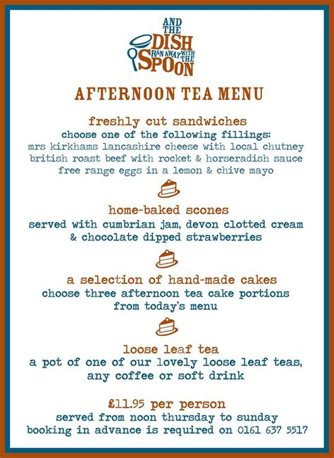 high tea menu http www dishandspoonfood co uk wp content uploads 2013 06 afternoon tea menu jun 2013 jpg
