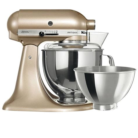 kitchen aide accessories kitchenaid artisan ksm160 stand mixer chagne gold 2170