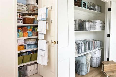 Built In Closet Organization Ideas by 10 Linen Closet Organization Ideas That Also Looks Beautiful