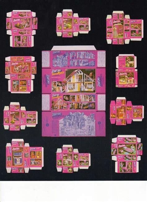 printable barbie furniture findings pinterest