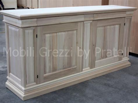 credenze grezze credenze in legno massello home design ideas home