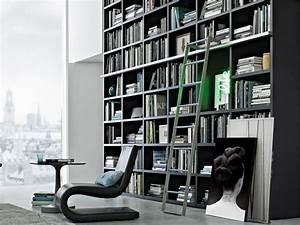 Bibliothèque Moderne Design : biblioth que moderne et design pour un rangement avec finesse ~ Teatrodelosmanantiales.com Idées de Décoration
