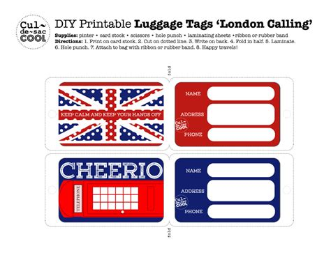 microsoft word luggage tag template division  global