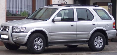 Opel Era by Opel Frontera Review And Photos