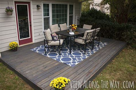 diy concrete patio cover ups the garden glove