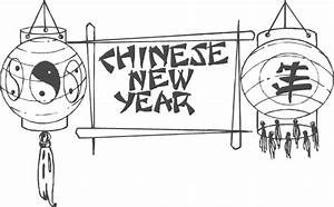 Lanterns Chinese New Year Coloring Pages | New Year ...