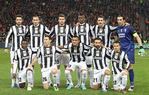 Juventus Soccer Team Players