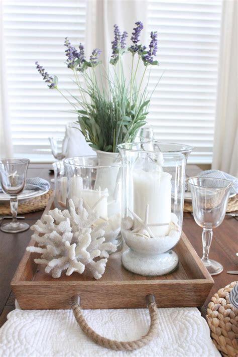 unique kitchen table centerpieces lavender in the kitchen summer style coastal decorating
