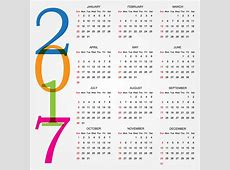 printable calendar 2017 Designs calendars 2018