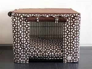 various choices of designer dog crates for you homesfeed With stylish dog kennels