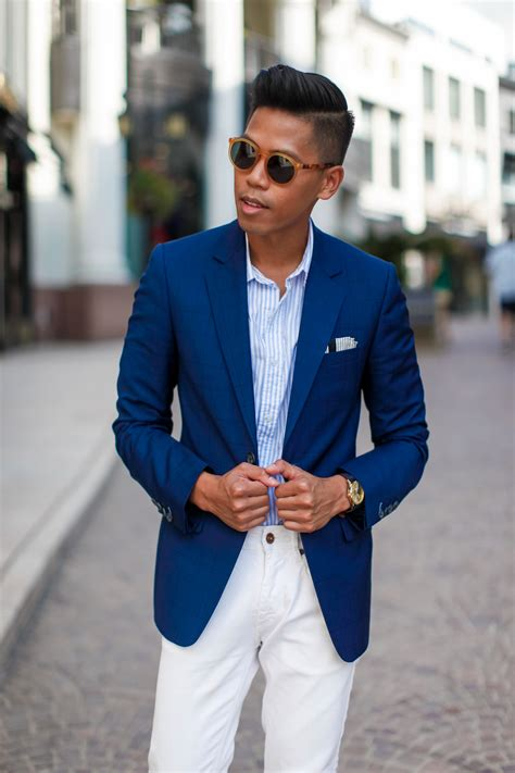 Navy Blue Blazer Outfit Men | www.imgkid.com - The Image ...
