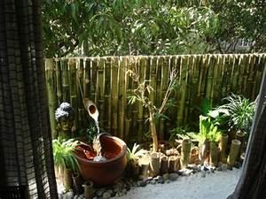 belle deco jardin avec bambou With deco jardin avec bambou