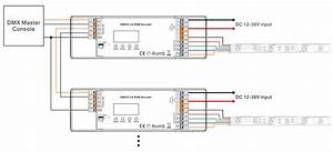 Constant Voltage 4 Channel Real 16 Bit Dmx512  U0026 Rdm Controller Sr