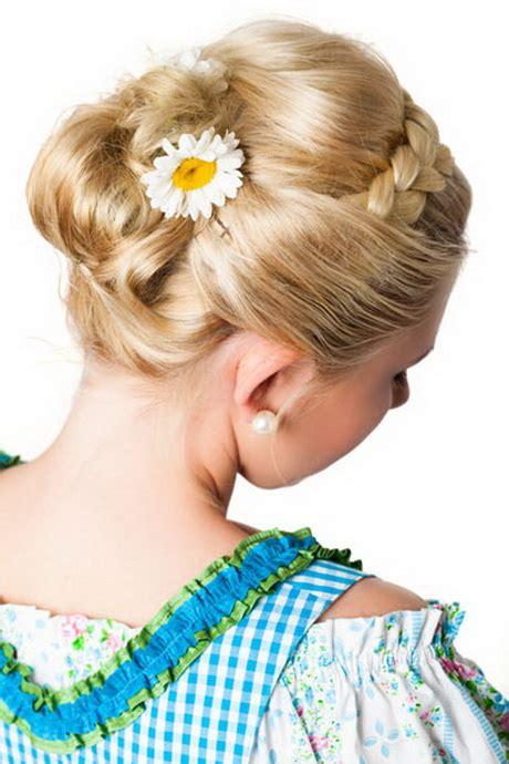 frisuren lange haare abendkleid