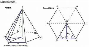 Mantelfläche Pyramide Berechnen : besondere pyramiden bungsaufgaben realschulabschluss ~ Themetempest.com Abrechnung