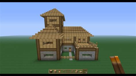 perfect minecraft survival house tutorial youtube
