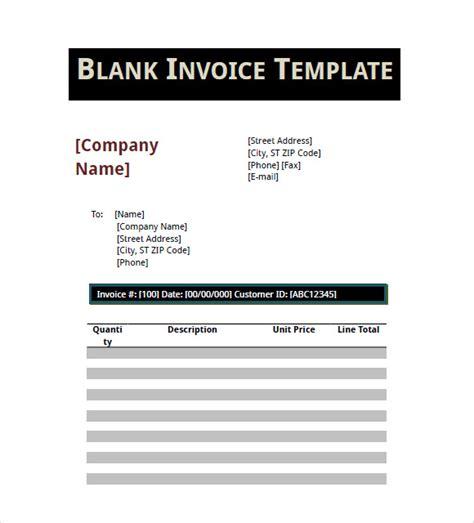 basic invoice templates  google docs google