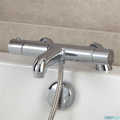 bathroom thermostatic bath shower mixer valve chrome - Bath Shower Mixer Valve