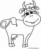 Coloring Herd Cows Popular sketch template