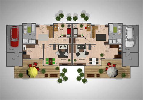 Garage Diele by 4 Raum Wohnungen Doppelh 228 User Beck Strecker Immobilien