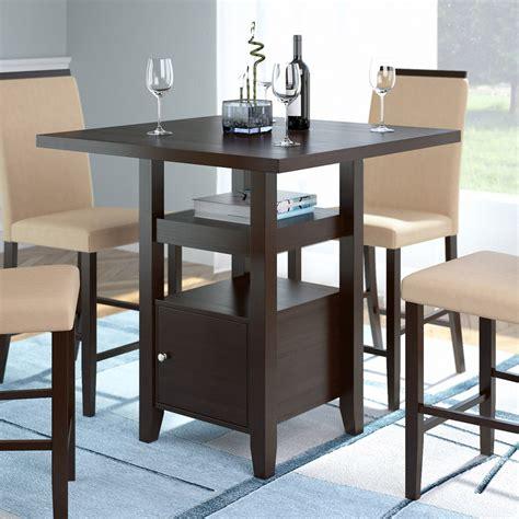 table de salle 224 manger 224 hauteur de comptoir cappuccino avec armoire de rangement fabricville