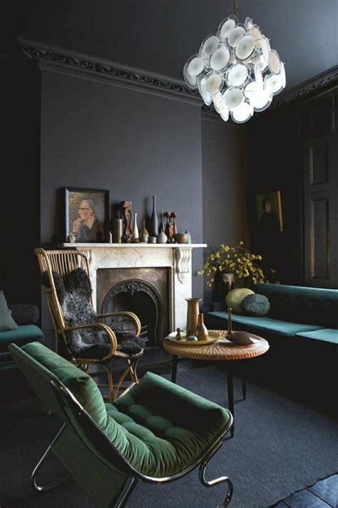 chambre vert kaki vintage einrichtung einrichtungsideen im retro stil