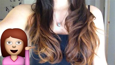 ombre hair selber machen balayage kurze haare selber machen