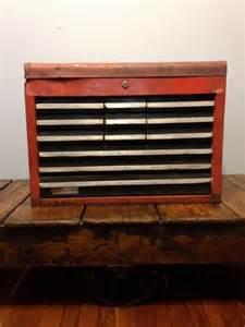 Vintage Sears Craftsman Tool Box