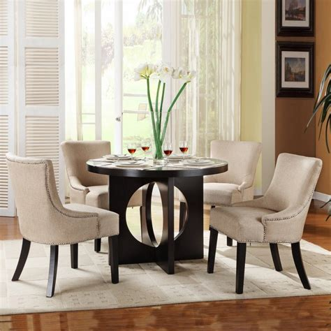 Excellent Wondrous Round Dining Table Sets For 4