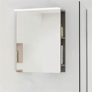 miroir salle de bain avec rangement miroir lumineux sanijura With miroir rotatif salle de bain