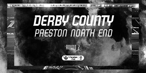 Match Date Confirmed For Preston Cup Tie - Blog - Derby County