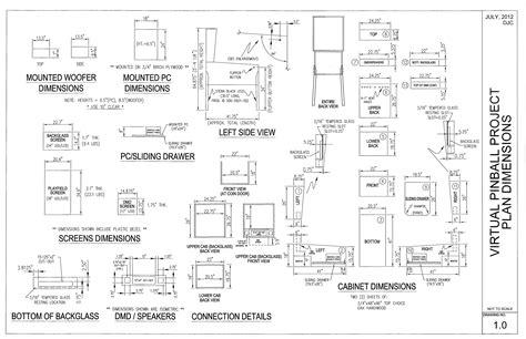 Pinball Cabinet Plans by Diy Visual Pinball Cabinet Part 1 Markwheeler