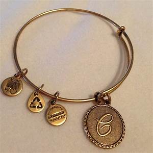 alex ani retired alex and ani initial c charm wire With alex and ani letter c bracelet