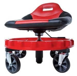 mechanics creeper seat rolling work stool tools garage