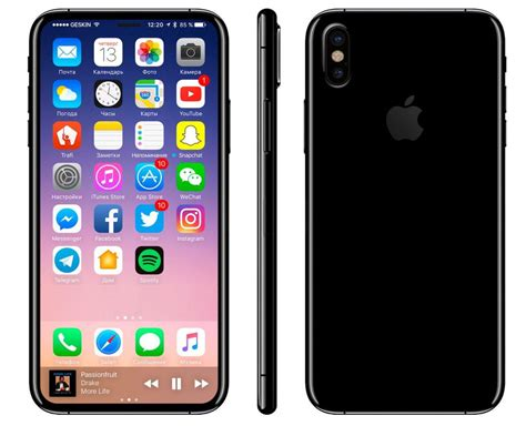 iphone 8 leak reveals new iphone 8 leak reveals 10 new features