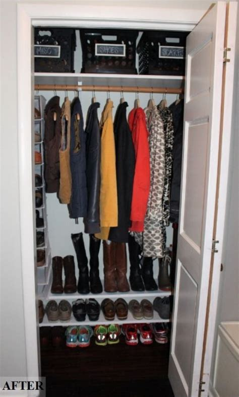 Front Entry Closet Organization Ideas by Ideas Laundry Closet Makeover 103 Home In 2019 Entry