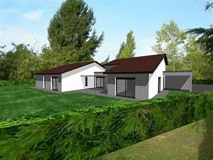 Creation Maison 3d : cr ation plans de maison en 3d ain 01 concept cr ation ~ Premium-room.com Idées de Décoration