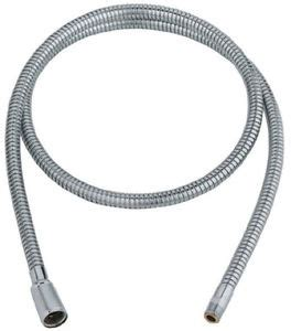 grohe pull out spray replacement hose kitchen sink faucet hose starlight chrome ebay