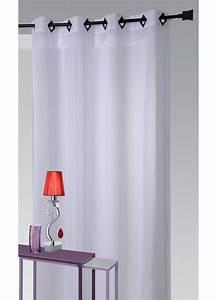 Voilage Pas Cher : voilage pas cher blanc grand rideau pas cher voilage ~ Melissatoandfro.com Idées de Décoration