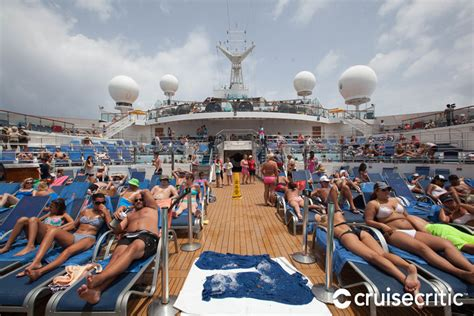 carnival conquest lido deck plans lido deck on carnival cruise ship cruise critic