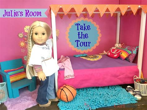 american girl doll julies bedroom youtube