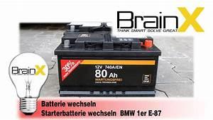 Batterie Für 1er Bmw : bmw 1er batterie wechseln autobatterie starterbatterie ~ Jslefanu.com Haus und Dekorationen