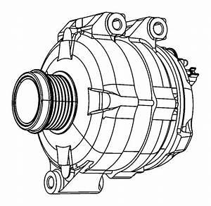 2011 Chrysler Town  U0026 Country Generator Kit  Engine
